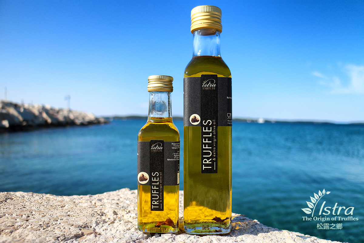 adf5bb01418 Extra Virgin Olive Oil with Black Truffle Slice 100ml & 250ml 黑松露特級初榨