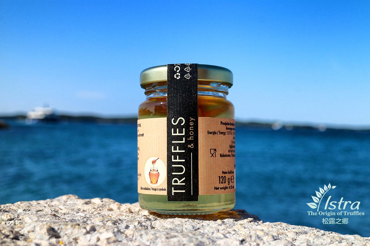 White Truffle Slices in Acacia Honey