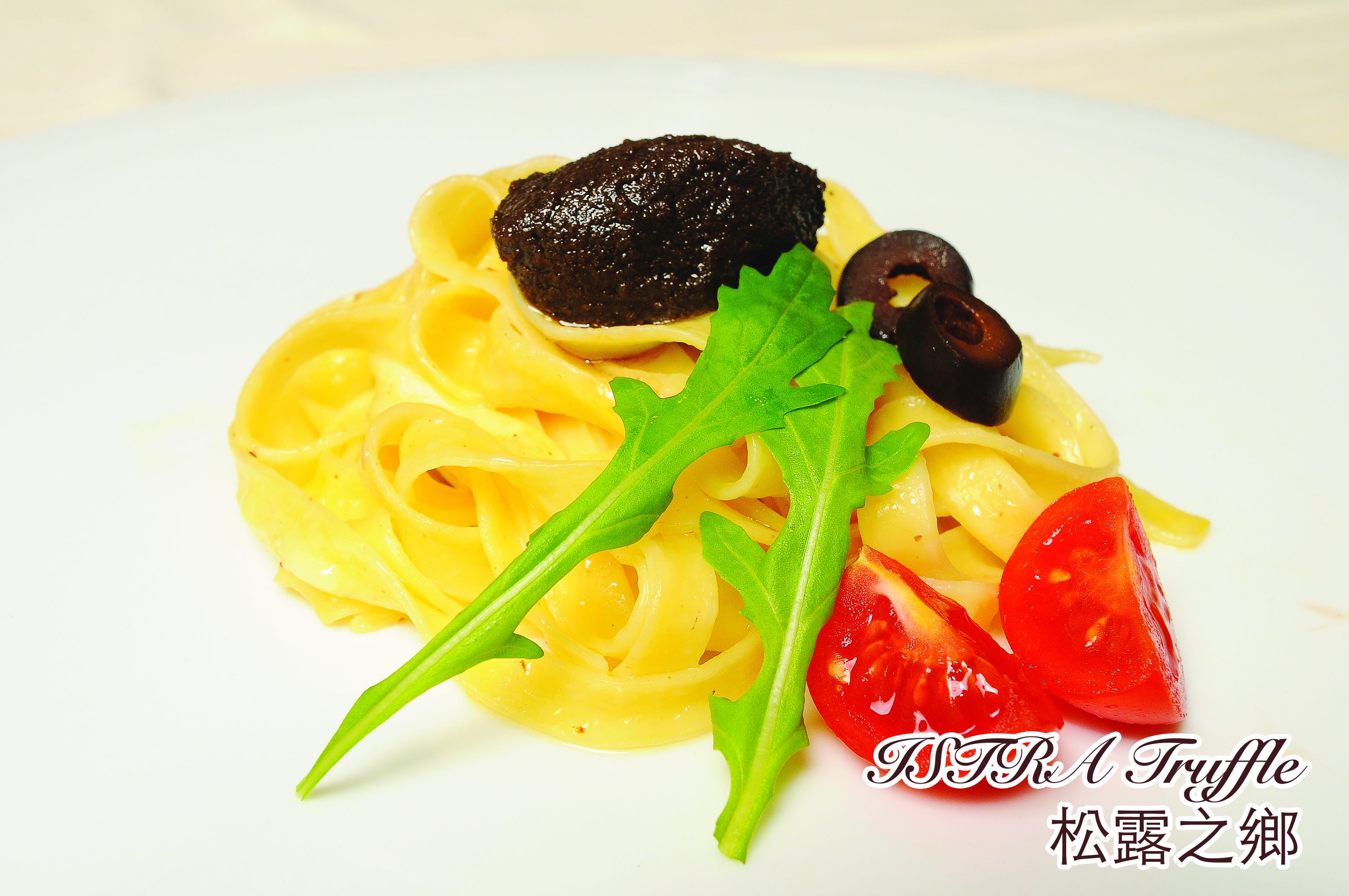 Tagliatelle with Truffle Olives Sauce