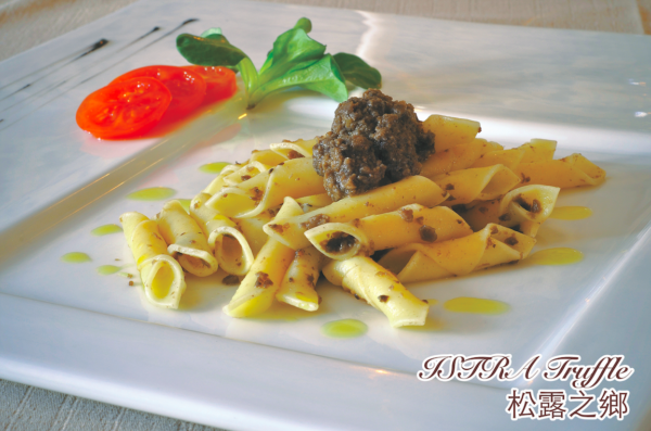 Traditional ISTRA Pasta in Truffle Sauce