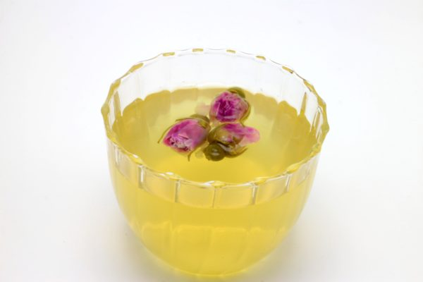 Rose Infused Truffle Honey Drink