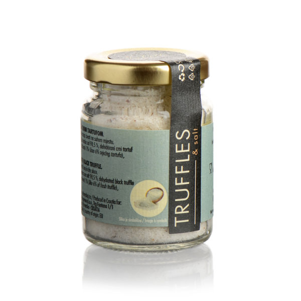 Sea Salt with Dried Black Truffles