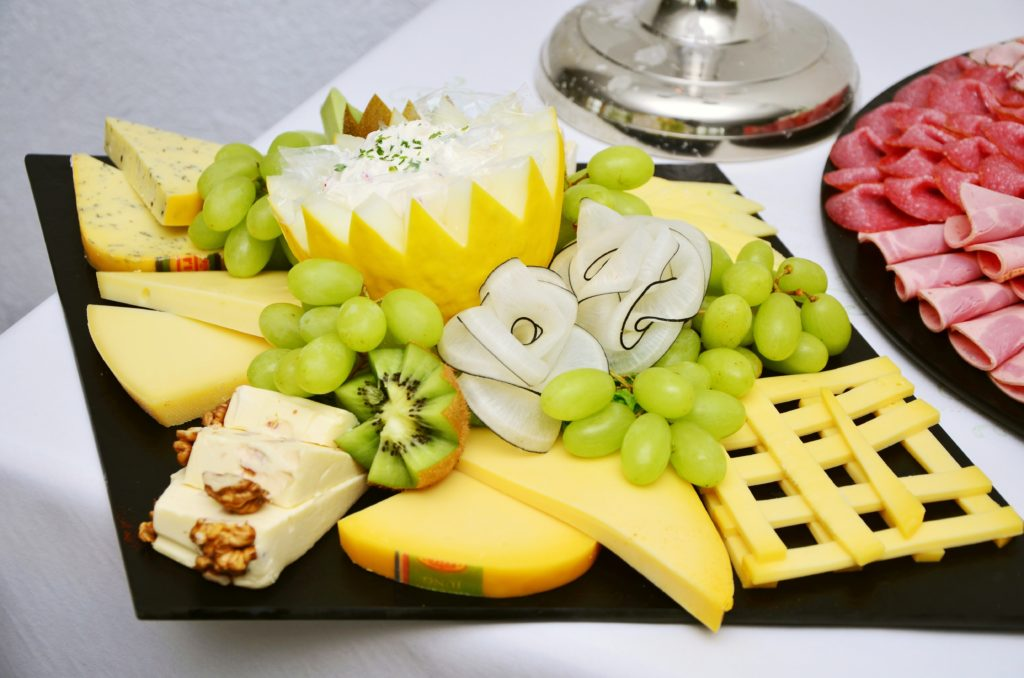 Cheese, Fruits and Truffle Honey
