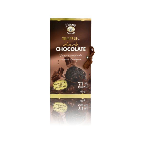 Dark Chocolate with BLACK truffle